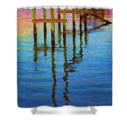 Focus Shower Curtain by Roberta Byram