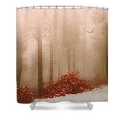 Fog IIi Shower Curtain
