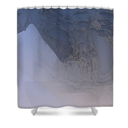 Fog In The Cave Shower Curtain