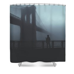 Fog Life  Shower Curtain