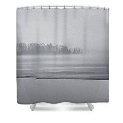 Fog Light Shower Curtain