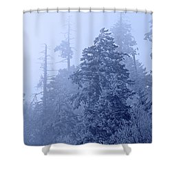 Shower Curtain featuring the photograph Fog On The Mountain by John Stephens