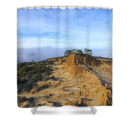 Fog Rolling In Shower Curtain by Joseph S Giacalone