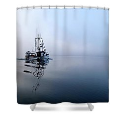 Foggy Shower Curtain