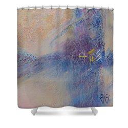 Foggy Crossroad Shower Curtain