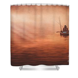 Foggy Daze Shower Curtain