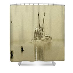 Foggy Evening Catch Shower Curtain