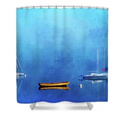 Upon The Still Waters Shower Curtain