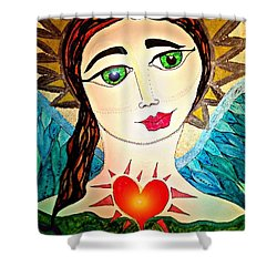 Folk Athena Shower Curtain
