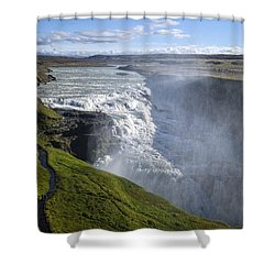 Follow Life's Path Shower Curtain