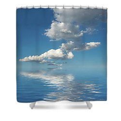 Follow Me Shower Curtain by Jerry McElroy