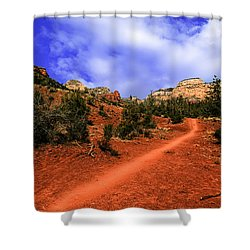 Shower Curtain featuring the photograph Follow Me by Mark Myhaver