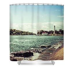 Shower Curtain featuring the photograph Follow Me Now by Joel Witmeyer