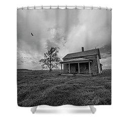 Follow The Buzzards Shower Curtain