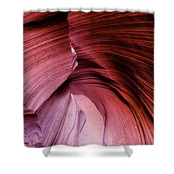 Shower Curtain featuring the photograph Follow The Curves by Stephen Holst