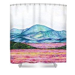 Follow Your Feelings Shower Curtain