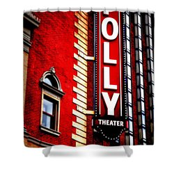 Folly Theater Shower Curtain