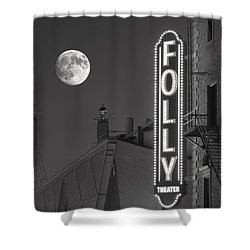 Folly Theatre Kansas City Shower Curtain by Don Spenner