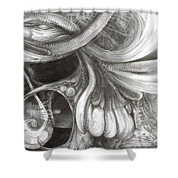 Fomorii Pod Shower Curtain by Otto Rapp