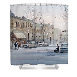 Fond Du Lac - Downtown Shower Curtain