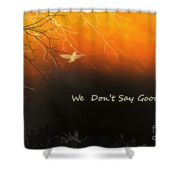Fond Thoughts Shower Curtain
