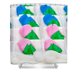 Fondant Close-up Shower Curtain