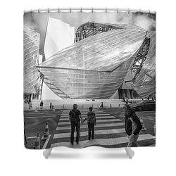 Fondation Louis Vuitton Paris I Shower Curtain