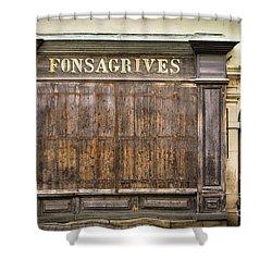 Fonsagrives In Saint-antonin-noble-val Shower Curtain by RicardMN Photography