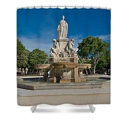 Fontaine De Pradier Shower Curtain