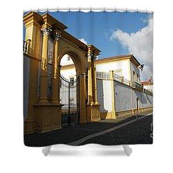 Fonte Bela Palace - Azores Shower Curtain by Gaspar Avila