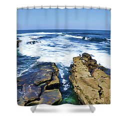 Food For The Soul Shower Curtain