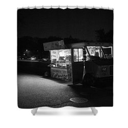 Food Truck, Late Hours Shower Curtain