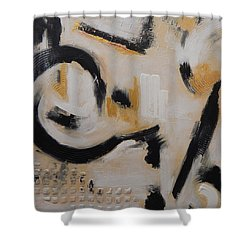 Fools Gold Shower Curtain by Sue Furrow
