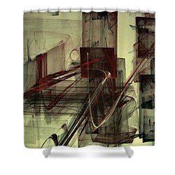 Fools Mate Shower Curtain by NirvanaBlues