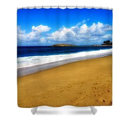 Foot Prints  Shower Curtain