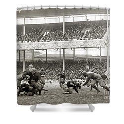 Football Game, 1916 Shower Curtain by Granger