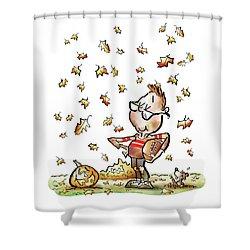 Football Hero Shower Curtain