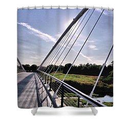 Footbridge 1 Shower Curtain