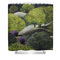 Foothill Spring Shower Curtain