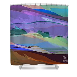 Foothills Shower Curtain