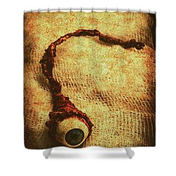 For A Bandaged Iris Shower Curtain by Jorgo Photography - Wall Art Gallery