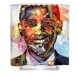 For A Colored World Shower Curtain