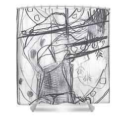 For B Story 4 10 Shower Curtain