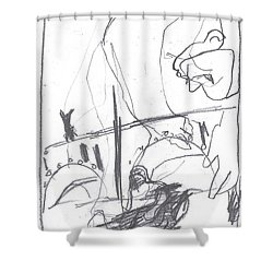 For B Story 4 3 Shower Curtain