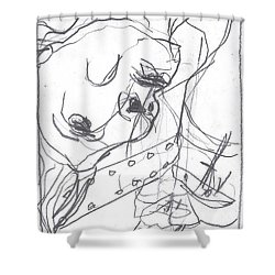 For B Story 4 4 Shower Curtain