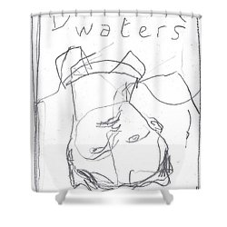 For B Story 4 5 Shower Curtain