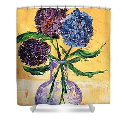 For Charlene Shower Curtain