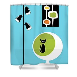 For Craig Shower Curtain by Donna Mibus