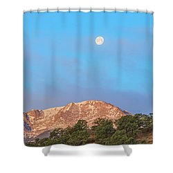 For God So Loved The World That He Created Mountains.  Shower Curtain