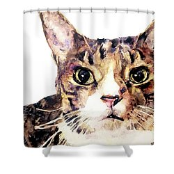For Laura Shower Curtain